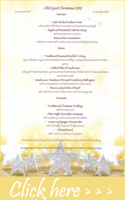 Click hee for our christmas menu